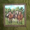 Vert foncé - Chevaux
